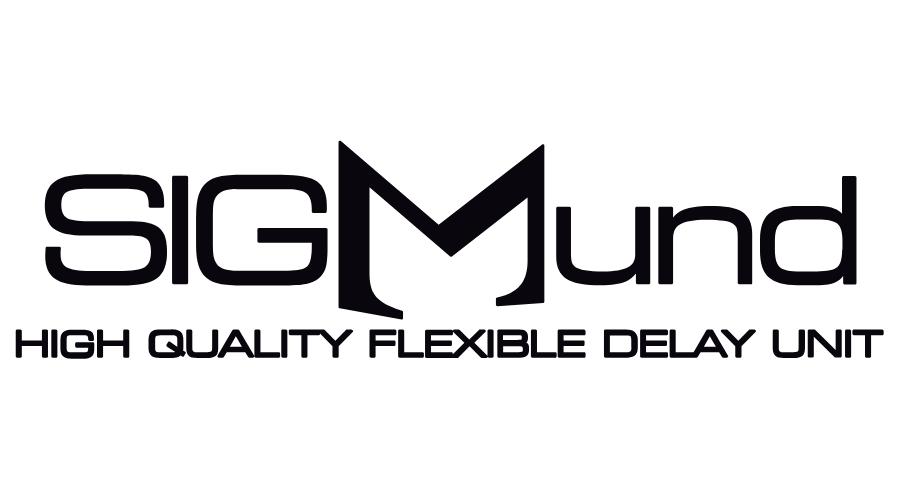 Sigmund High Quality Flexible Delay Unit Logo Vector
