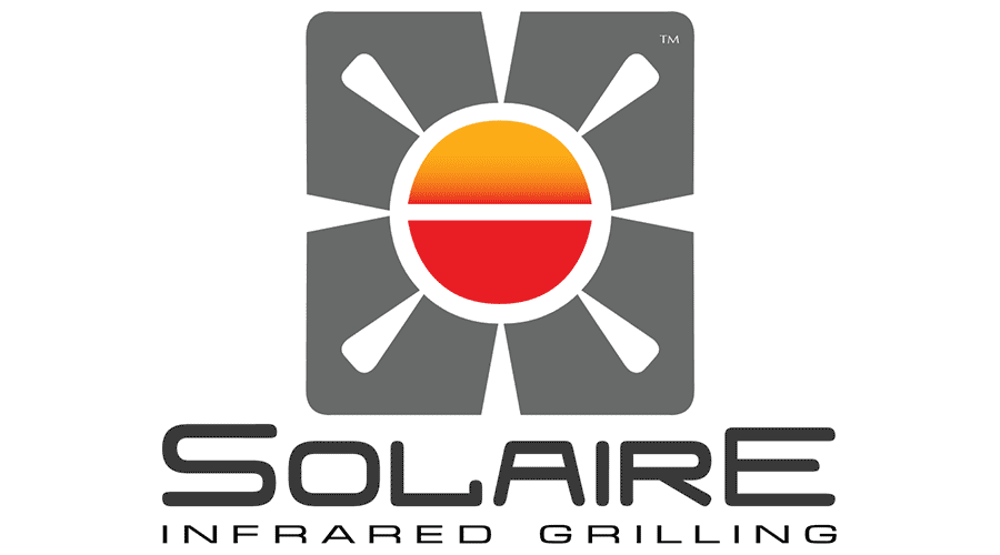 Solaire Infrared Grilling Logo Vector Svg Png