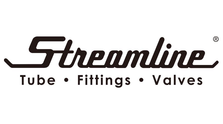 Streamline Tube Fittings Valves Logo Vector Svg Png