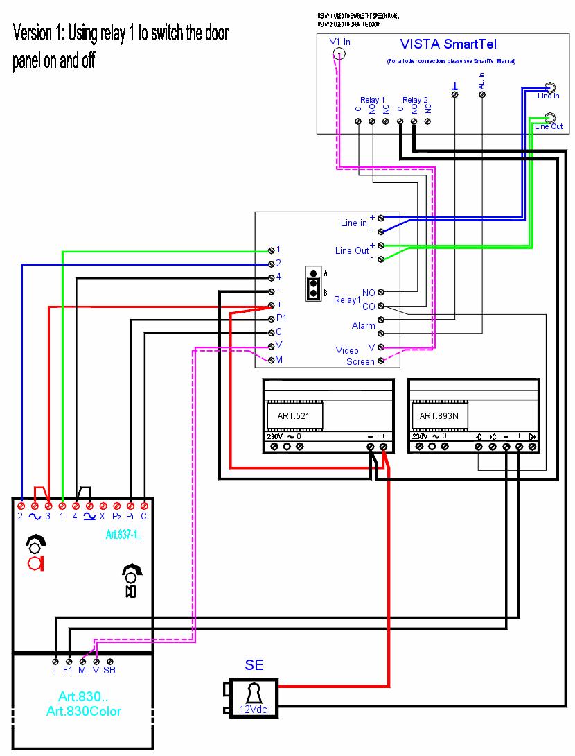 Similiar Intercom Systems Wiring Diagram Keywords on