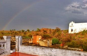 Temple Rainbow Roof Jatipura