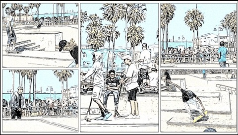 Storyboard Android App - Transform Video into Comic