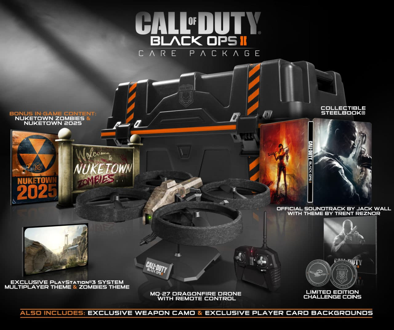 Ps Vita Cod Zombies Call Of Duty Black Ops Ii Collector S Editions Revealed