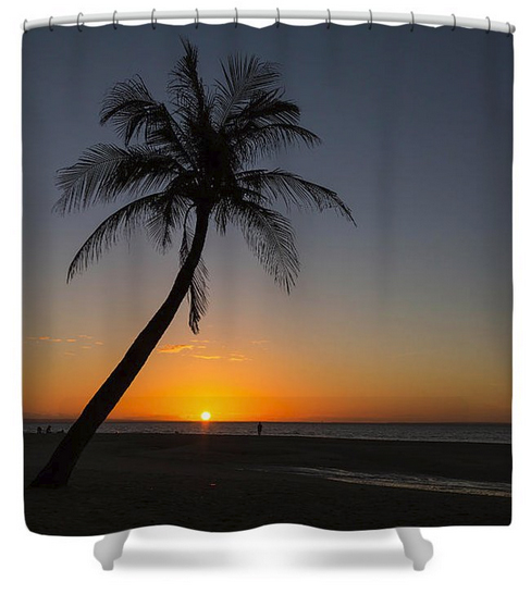 Bantayan Sunrise Shower Curtain
