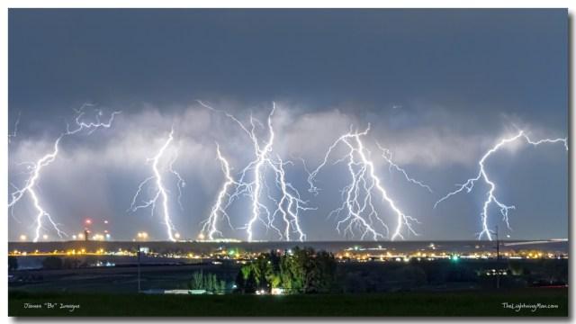 Severe Thunderstorm Panorama