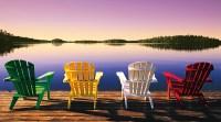 Muskoka Chairs Photograph by John Bartosik