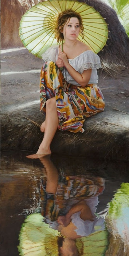 water-oil-painting