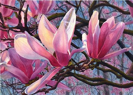 pink-flower-painting