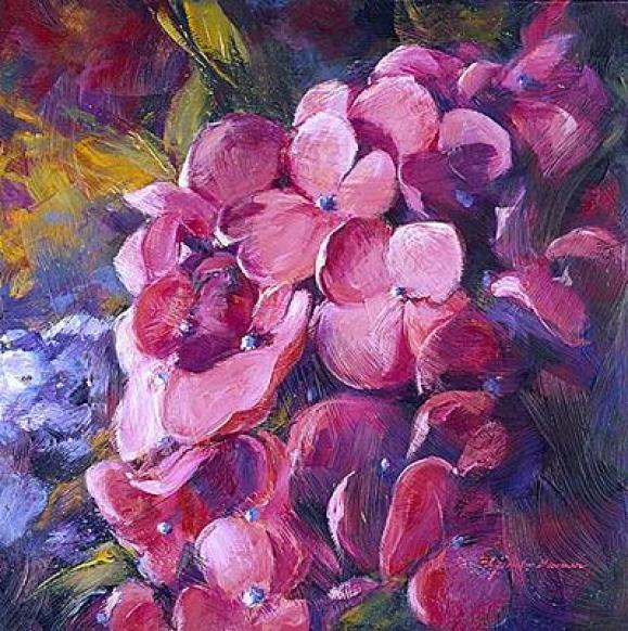 hydrangea-painting