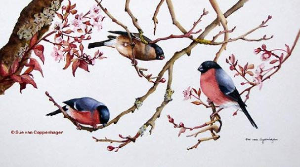 bird-on-tree-painting
