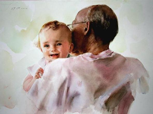 baby-in-watercolor