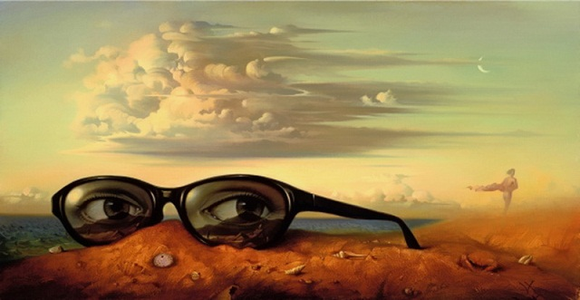 Surrealist Paintings By Russian Artist Vladimir Kush