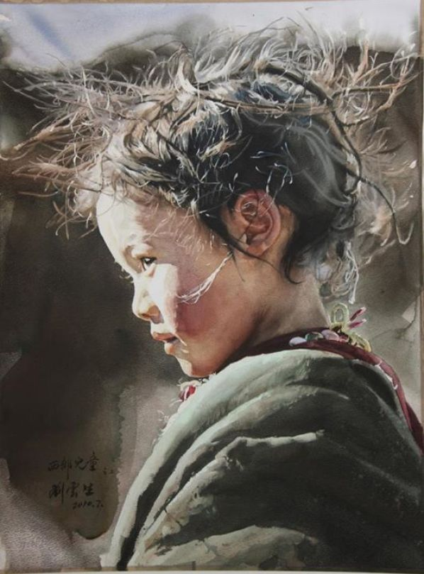 best-watercolor-portraits