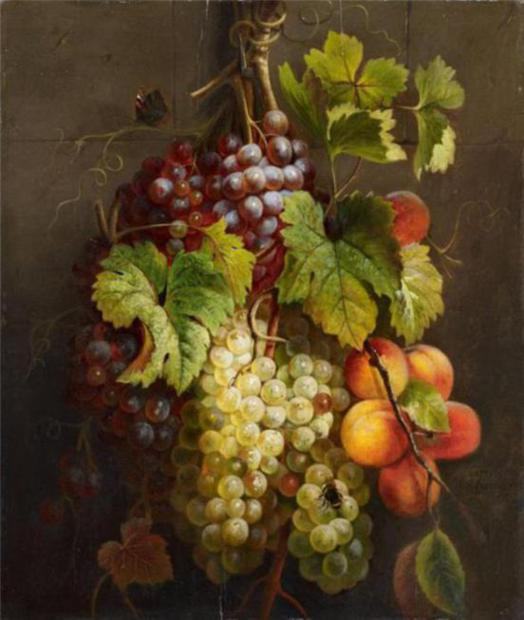 grapes-still-life-paintings