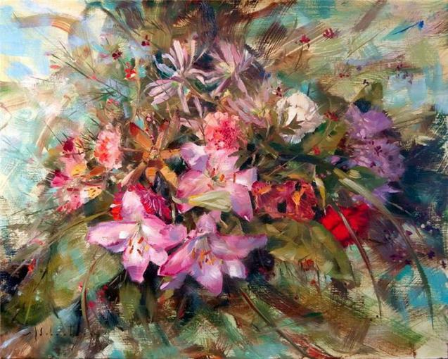 floral-oil-painting