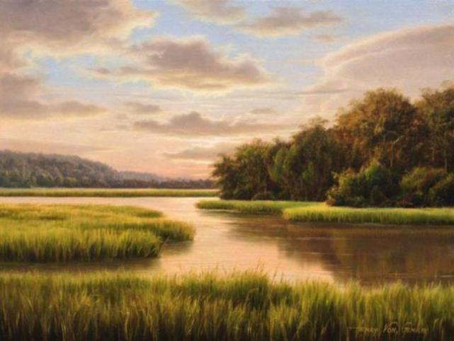 Images Of Realistic Landscape Paintings