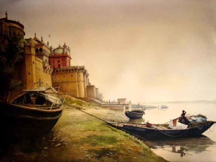 Indian-watercolor-paintings