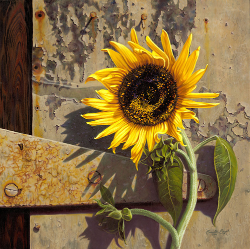 Famous Sunflower Paintings
