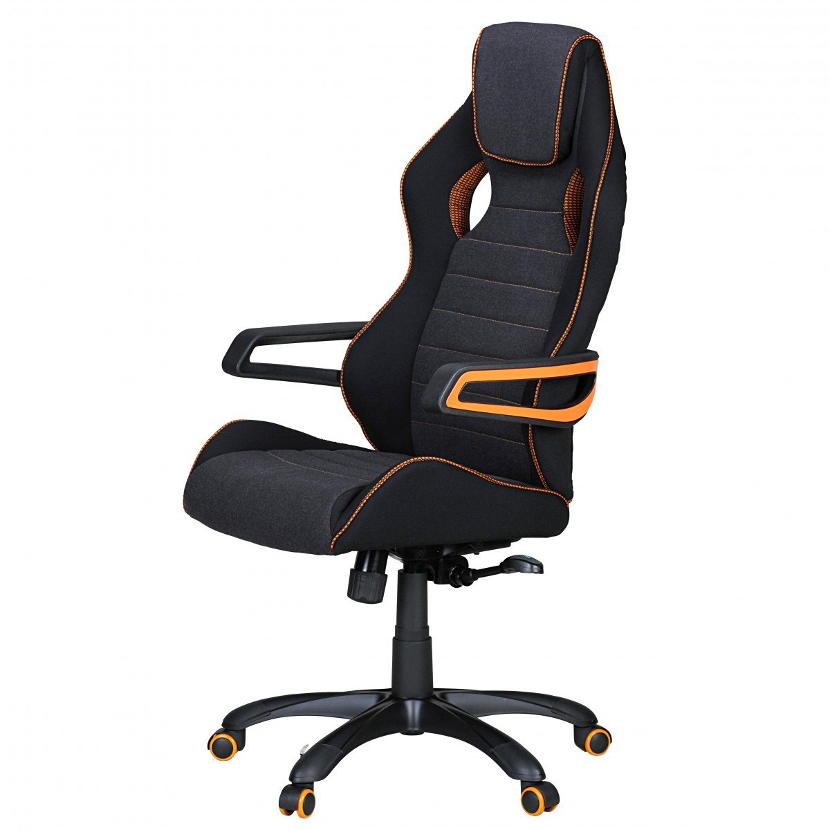 Amstyle Chefsessel Race Amstyle Bürostuhl Valentino Schwarz Gaming Chefsessel