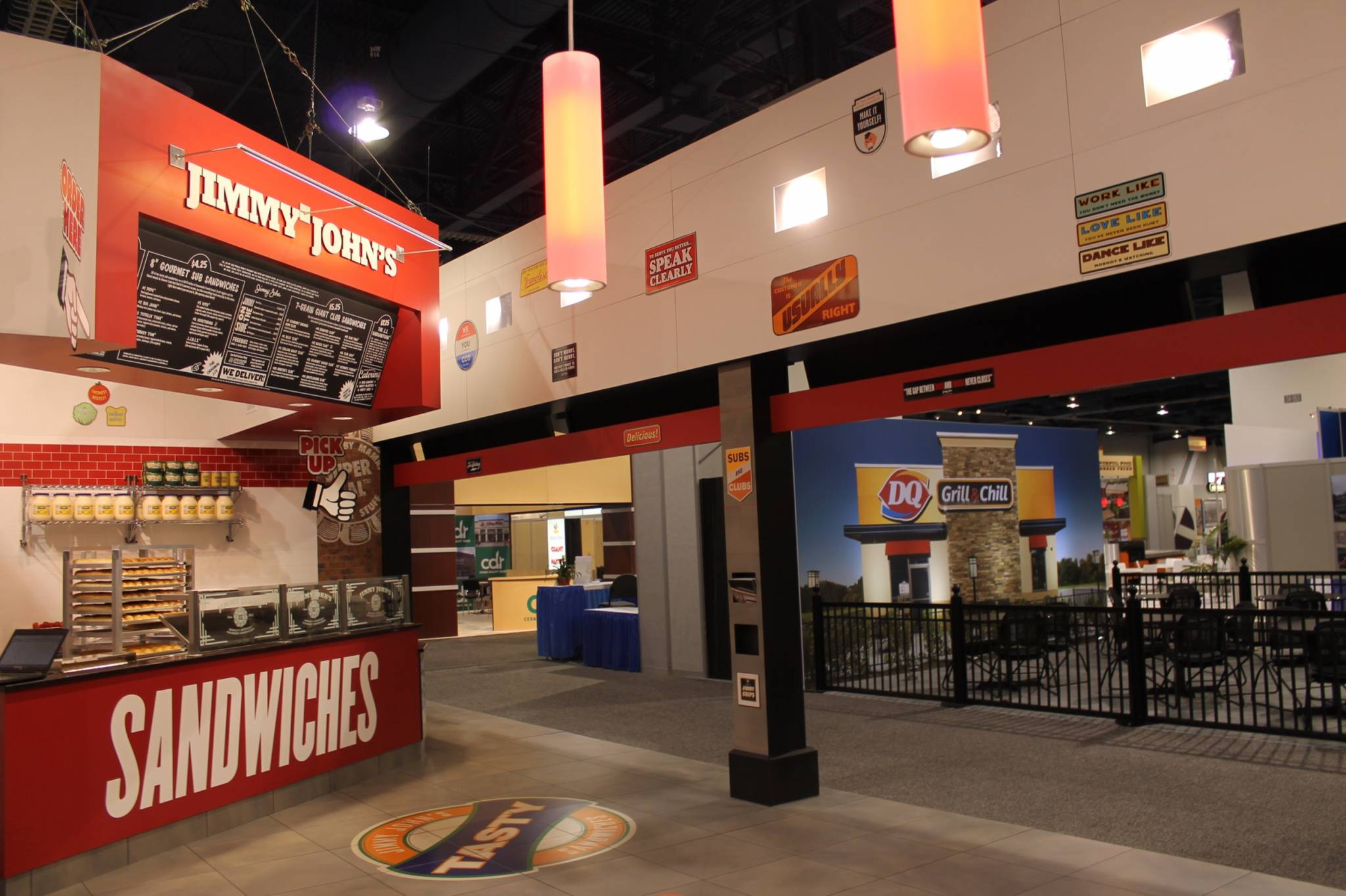 Shop Lighting Fixtures Led Jimmy John's Recon '13 - Fine Design Associates