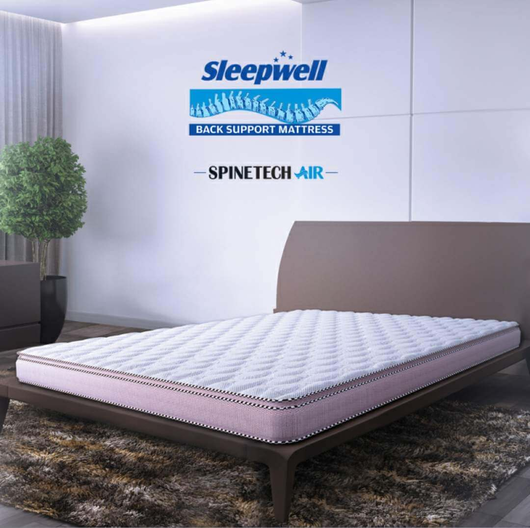 Sofa Foam Price In Delhi Buy Sleepwell Spinetech Air In Delhi At Best Price At Fine Fabrics