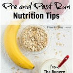 Pre and post run nutrition tips with The Rungry Health Coach. Tips for what to eat before and after a run or workout, timing for nutrition and what works best!
