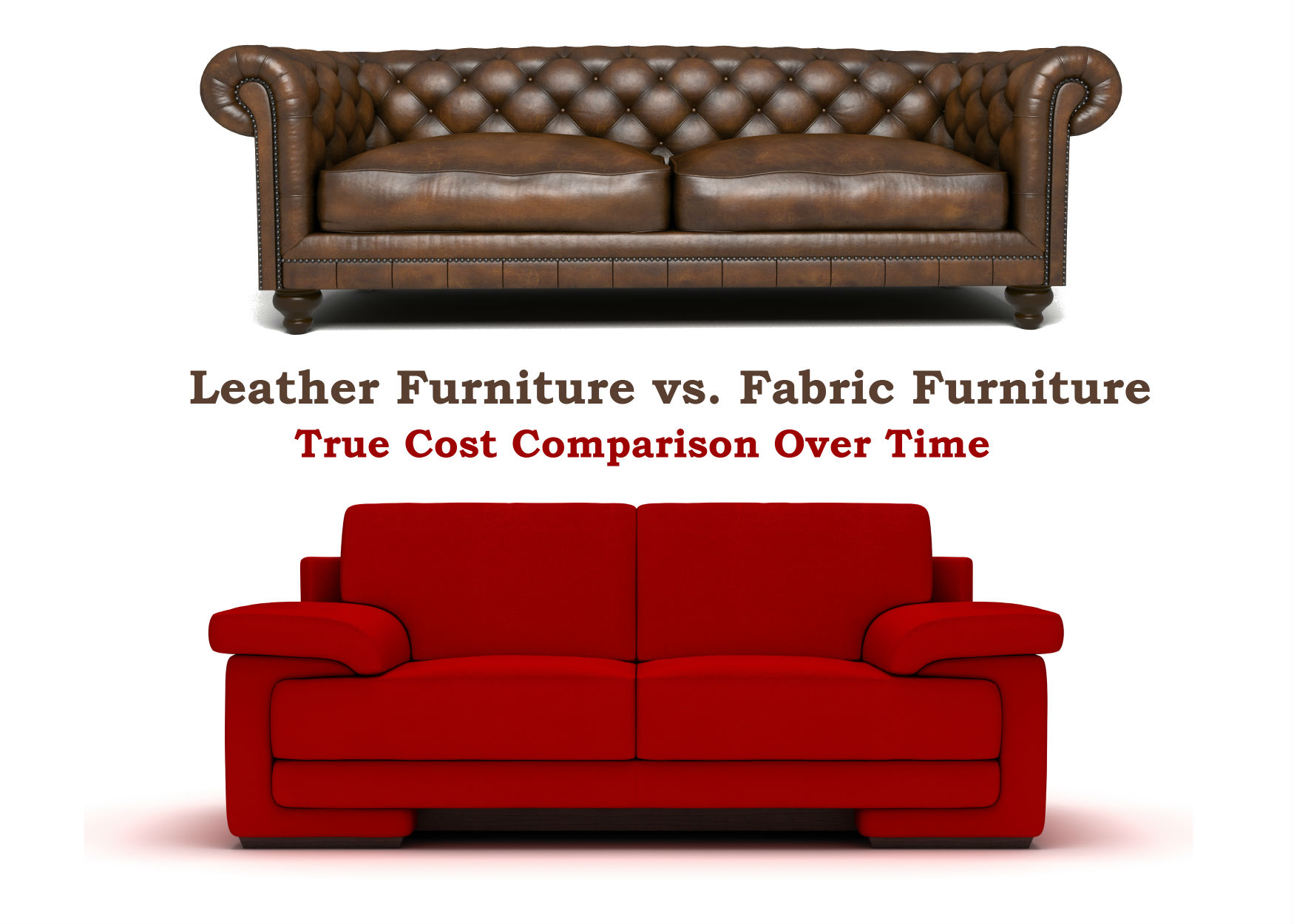 Leather Furniture Vs Fabric True Cost Comparison Of Over Time