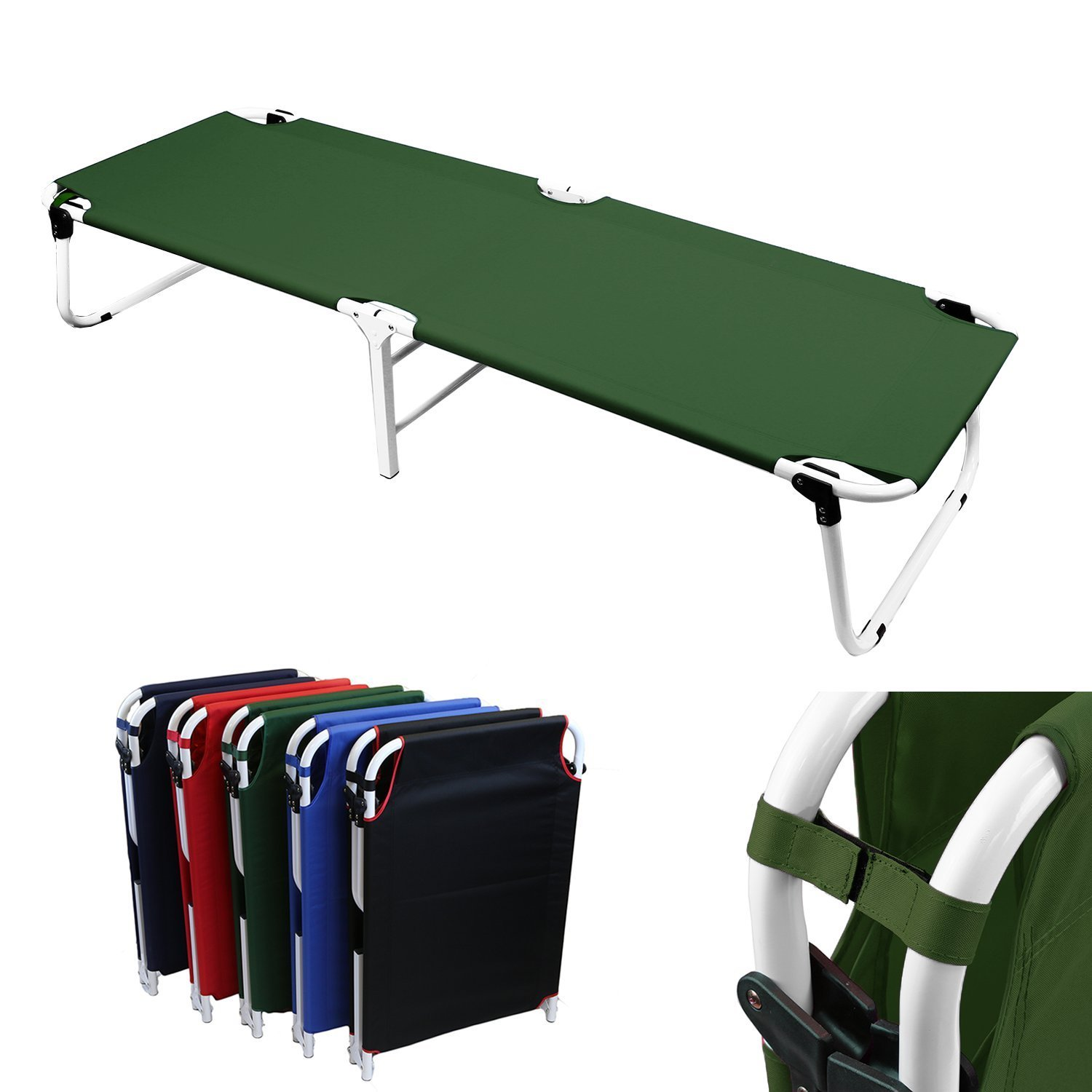 Big W Portable Cot Transfer Army Military Stretcher Cot Trolley