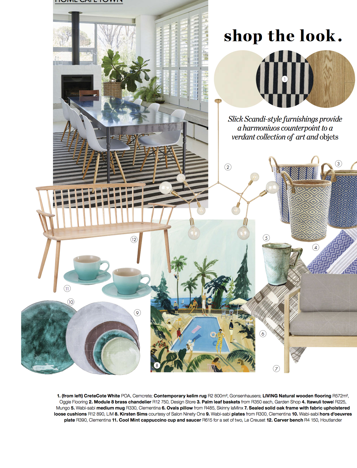 Elle Decoration South Africa Elle Decoration South Africa June 2018 Gonsenhausers Fine Rugs