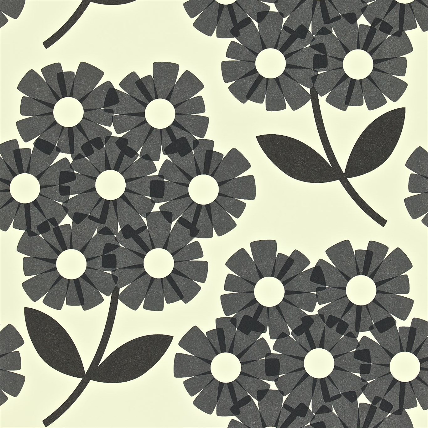 Poppenhuis Behang Orla Kiely - Giant Rhododendron Wallpaper