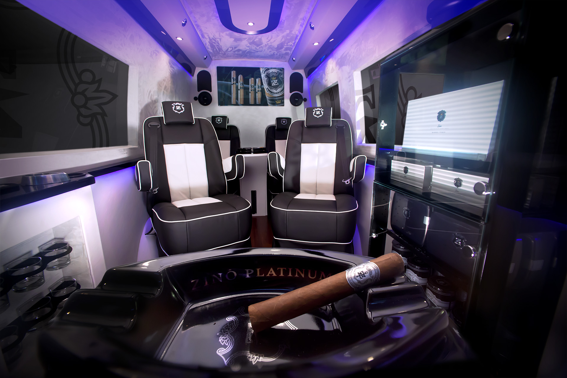 Interior Design New York Zino Mobile Luxury Lounge Goes On Tour - Fine Tobacco Nyc