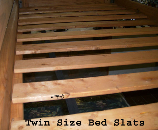 Twin Bed Slats Twin Extra Long Bed Slats Wooden