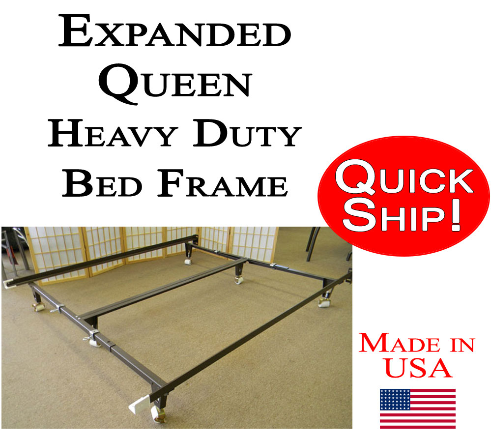 Expanded Queen Mattress Expanded Queen Bed Frame Heavy Duty With Bolt On Head Board Brackets