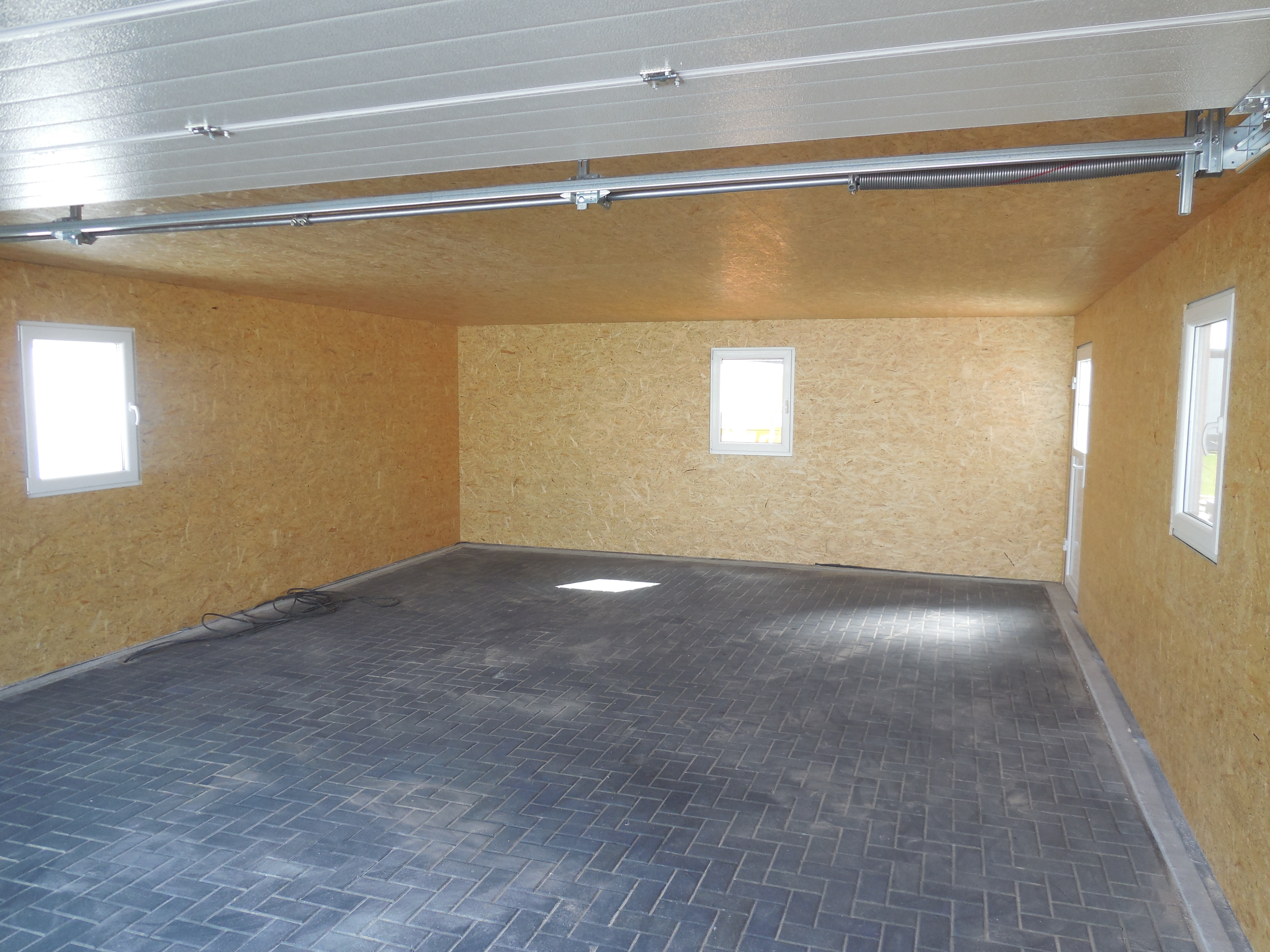 Optimaler Bodenbelag Garage 6x9m Fink Garage