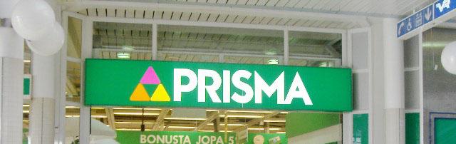 フィンランドの代表的なスーパーPRISMA(プリスマ)