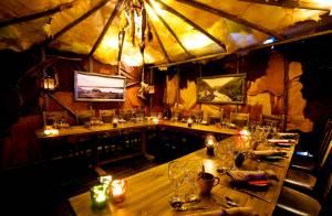 ロバニエミ市街の中心にあるレストラン「nili(ニリ)」