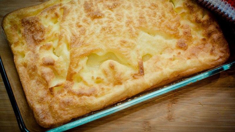 オーブンで作る!フィンランドのパンケーキの作り方