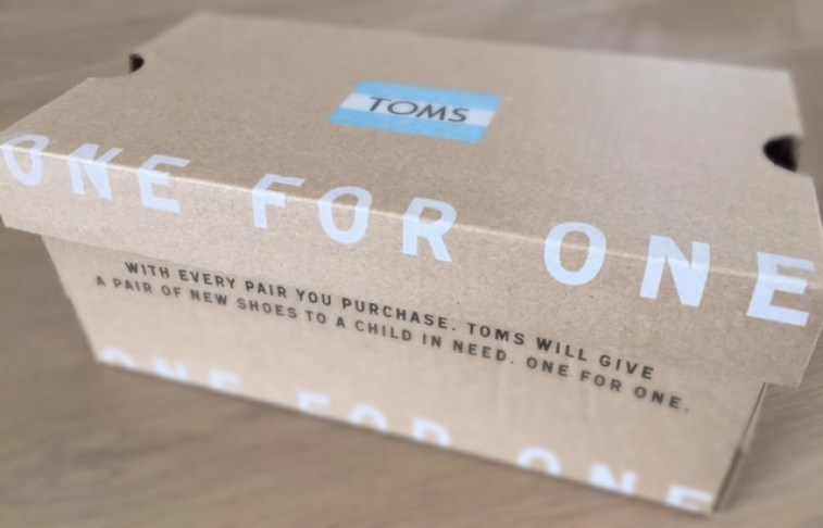 TOMS One for One finno