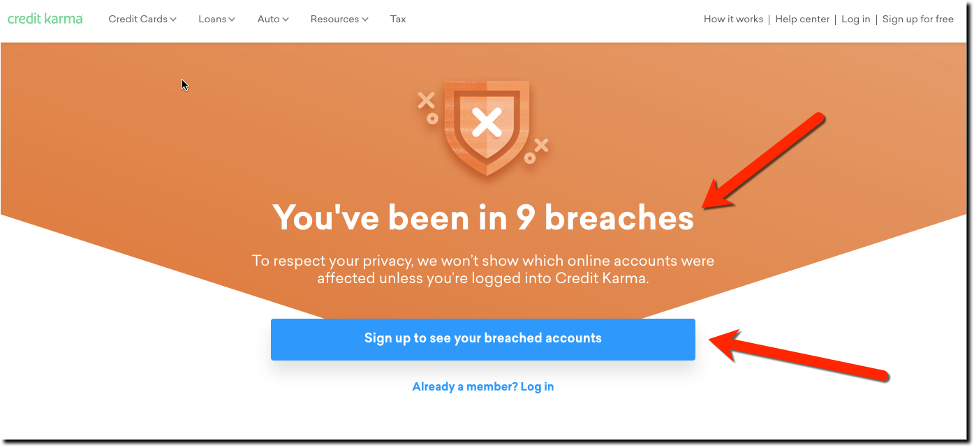 Credit Karma Credit Karma Does Breach Education Right Security Ux