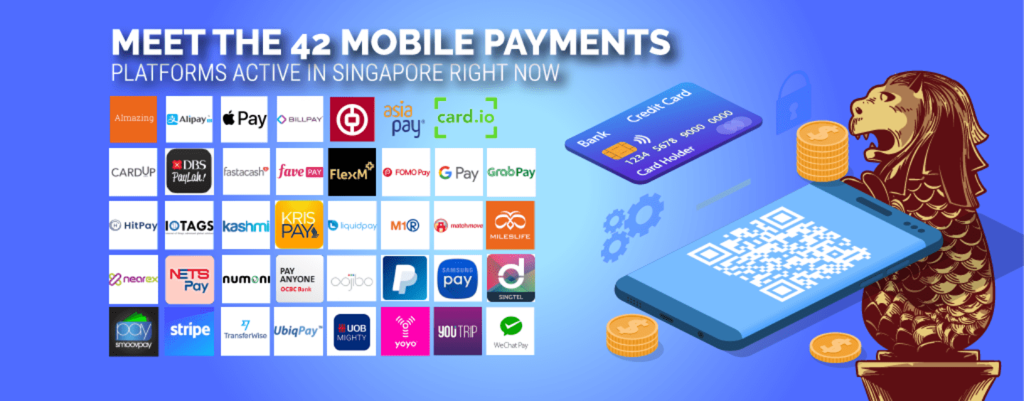 Miles And More Digital Service Card Meet 42 Mobile Payment Players Active In Singapore Right Now