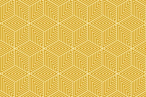 seamless striped isometric rhombus pattern.