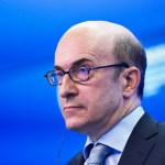 SAINT PETERSBURG, RUSSIA - JUNE 18: Kenneth 'Ken' Rogoff, professor of economics at Harvard University, attends a session of the  attends SPIEF2015 Saint Petersburg International Economic Forum on June 18, 2015 in Saint Petersburg, Russia. (Photo by Gleb Shchelkunov/Kommersant Photo via Getty Images)