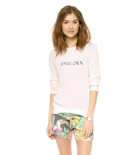 Sweat-shirt Wildfox Couture chez Shopbop, 58,18€