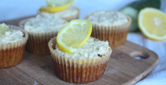 Coconut Cucumber Muffins (Gluten-Free/Dairy-Free)