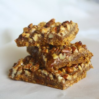 Carrot Sticky Nut Bars