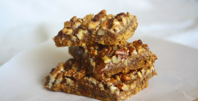 Carrot Sticky Nut Bars (Gluten-Free, Vegan)