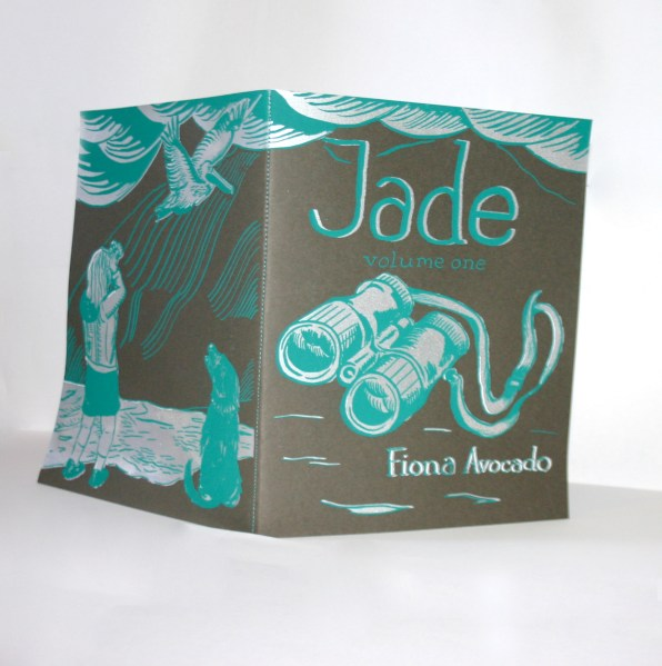 Jade vol. 1, 32 pages b&w, self published 2012, Portland OR.