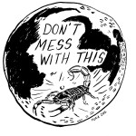 Don't Mess With This // Lunar Scorpio, August 2016