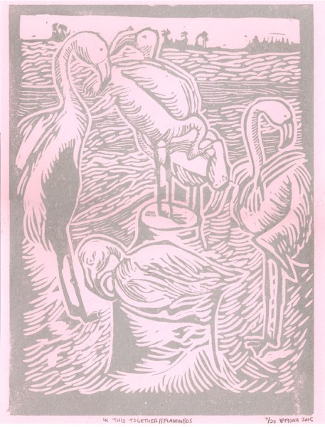 In This Together//Flamingos, 2015