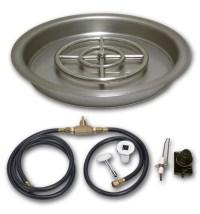 Round Drop-In Pan Spark Ignition Kits  AFG | FireBoulder